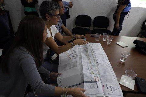 Reunión de representantes de comerciantes y de Gob. de Jalisco