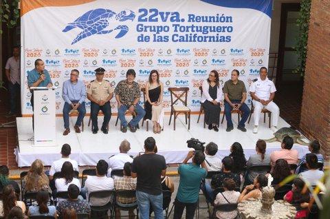 Participación del alcalde de Pto. Vallarta en la 22va. Reunión Grupo Tortuguero de las Californias.
