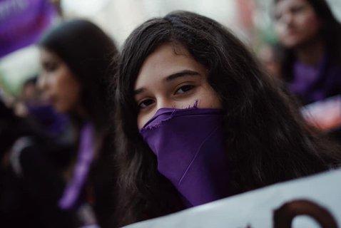 Marcha feminista del 8M 2020 en Guadalajara, Jal.