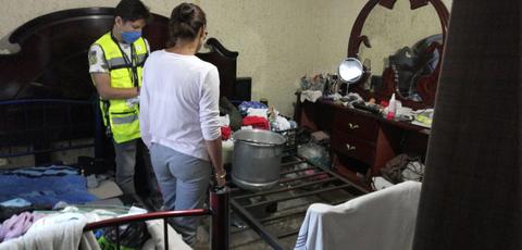 diagnóstico de viviendas afectadas por lluvia e inundación en Guadalajara
